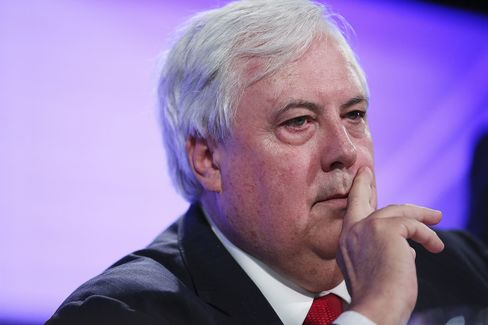 Palmer United Party Founder Clive Palmer