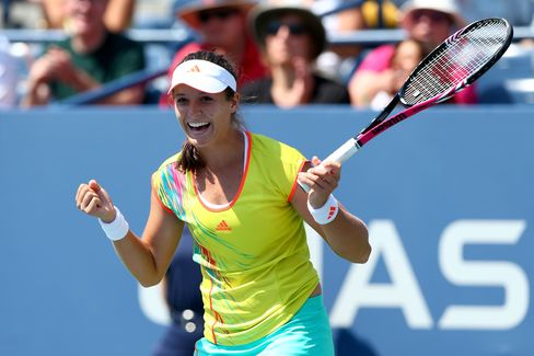 Britain's Robson Upsets Li at U.S. Open; Sharapova Tops Burdette