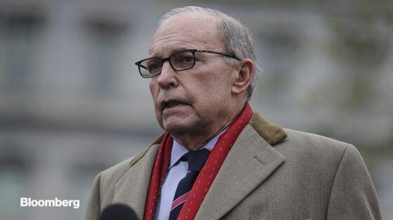 Kudlow Says U.S. Won't Defer Tariffs Because It's Too Hard