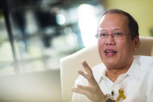 Philippine President Benigno Aquino