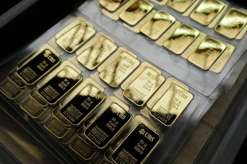 UBS Starts Gold-Vault Service in Singapore Amid Bullion Rout