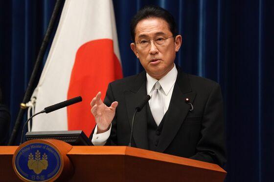 Japan's Kishida Gets Lowest Support for a New Premier Since 2008