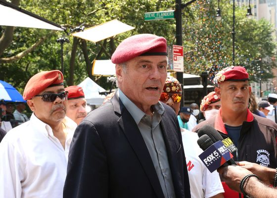 GOP's Sliwa Says He Sees Path to Beat Heavily Favored Democrat