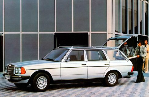 The original wagons came with an optional rear-facing double back seat.