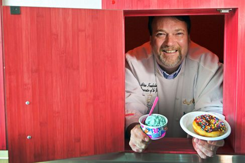 Q&A: Dunkin' Donuts' Creative Willy Wonka