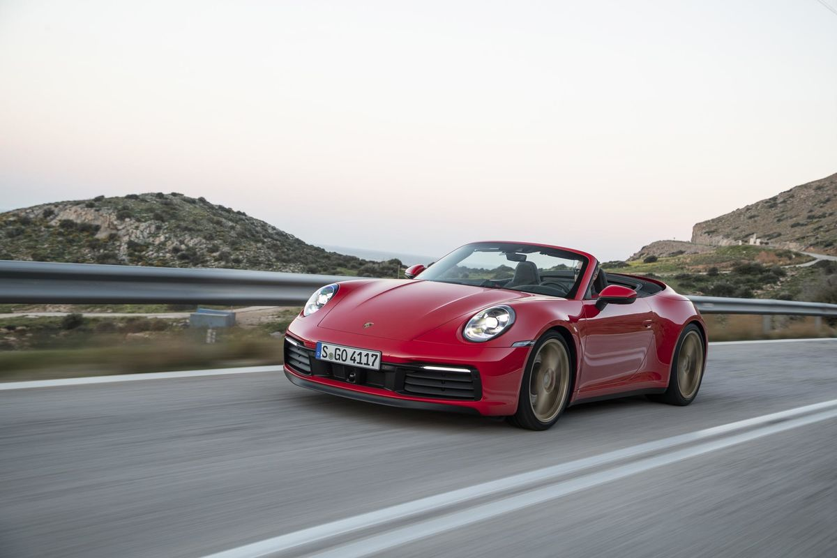 2020 Porsche 911 Carrera 4s Cabriolet Review Options To Get Bloomberg