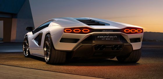 The Lamborghini Countach Returns asa $2.64 Million Hybrid Beast