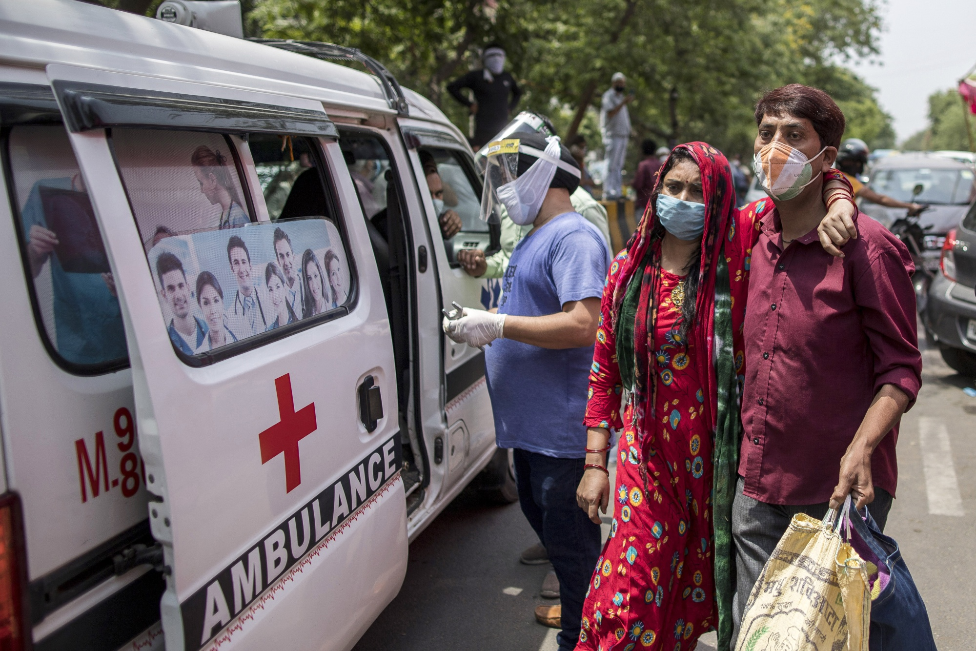India in chaos as a vaccine in disarray