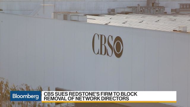 A long-running dispute between CBS and Redstone has erupted into open warfare. Bloomberg's Nabila Ahmed reports