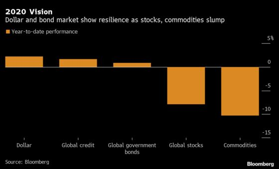 Here's Where Investors Have Found Refuge in the Market Storm