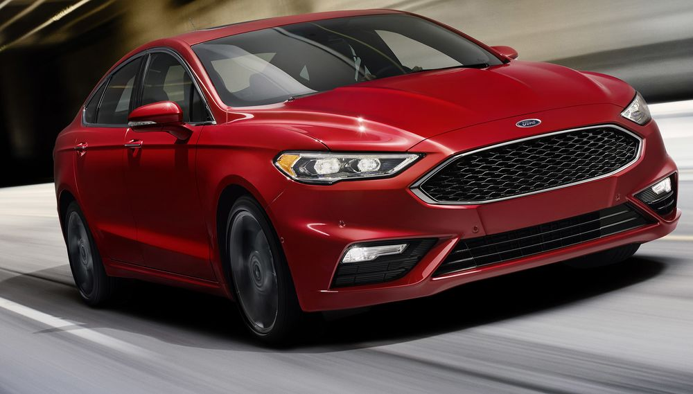 Ford Drops Aston Martin Looks In Edgy New Fusion Family Sedan Bloomberg