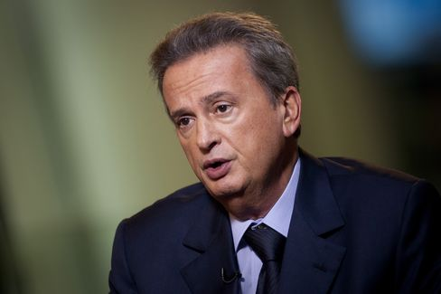Lebanon's Central Bank Governor Riad Salameh