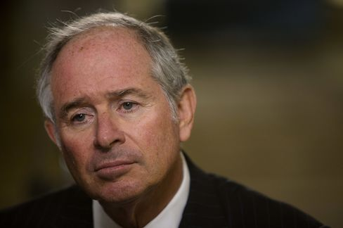 Schwarzman Says Election Scrutiny of Private Equity May Pay Off