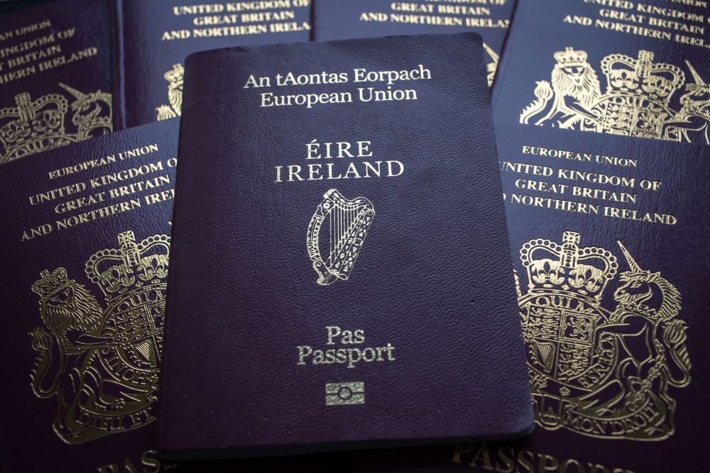 How Much Might Irish Passport Be Worth After Brexit 80 000 Bloomberg