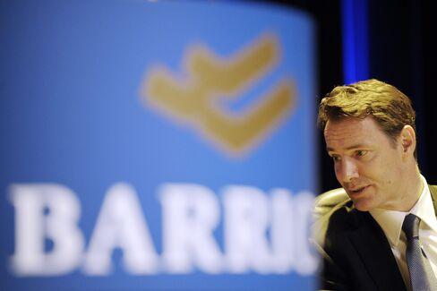 Barrick Chief Executive Officer Aaron Regent