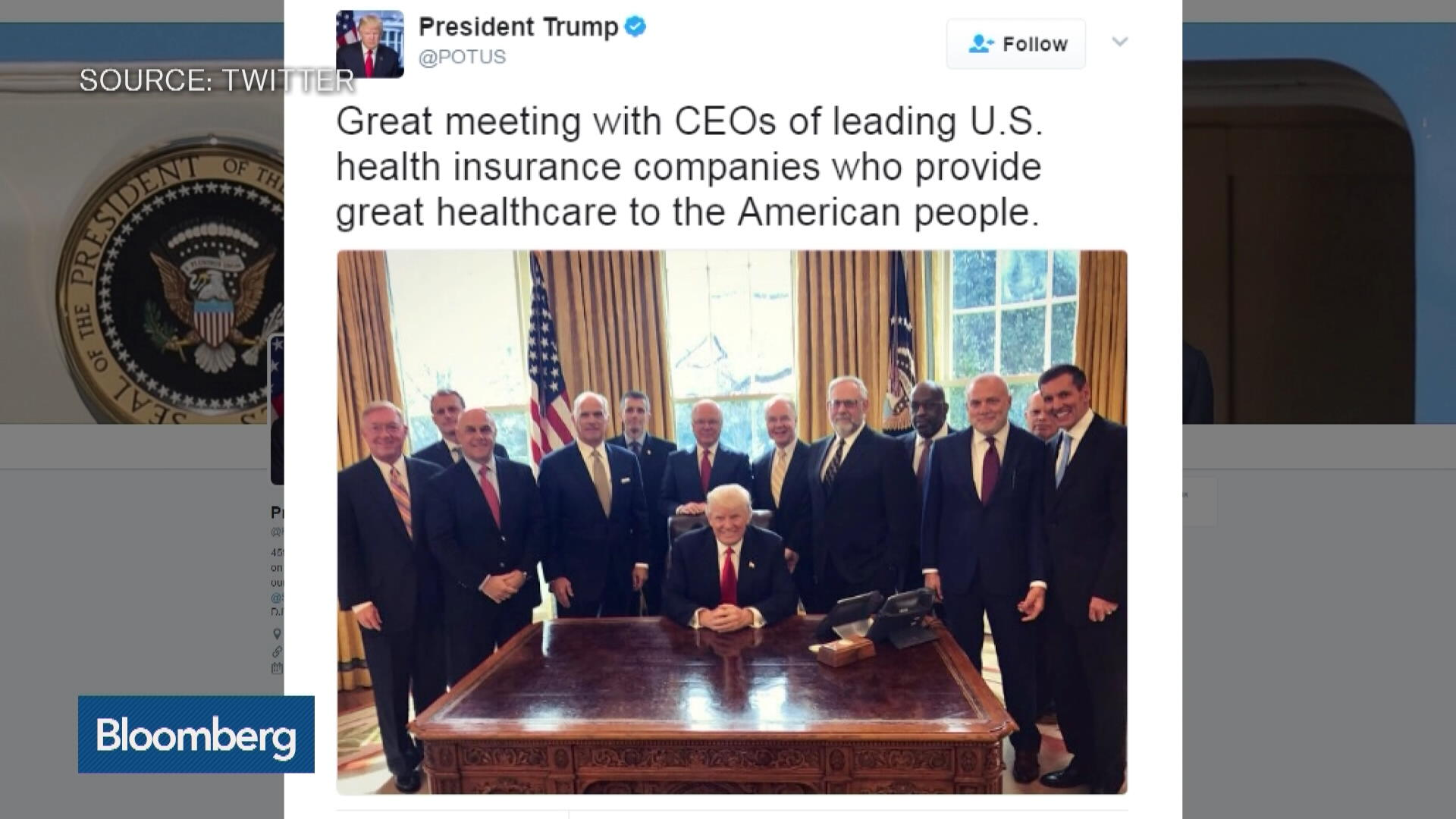Aetna CEO Says Bipartisan Solution Needed on Health Care