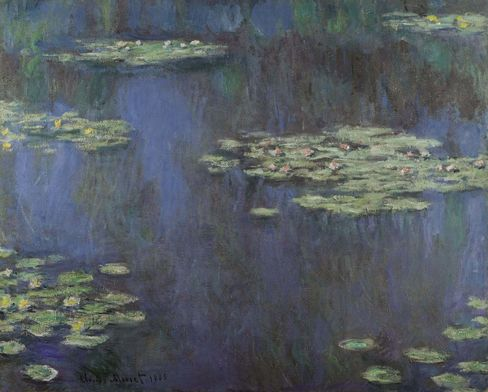 A signed Claude Monet, dated 1905, sold for $54 million.