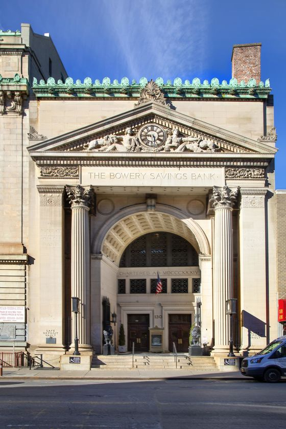 Bowery Savings Bank Heads to Auction in Unconventional Real Estate Arrangement