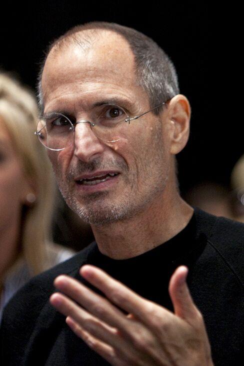 Steve Jobs, chief executive officer of Apple Inc.