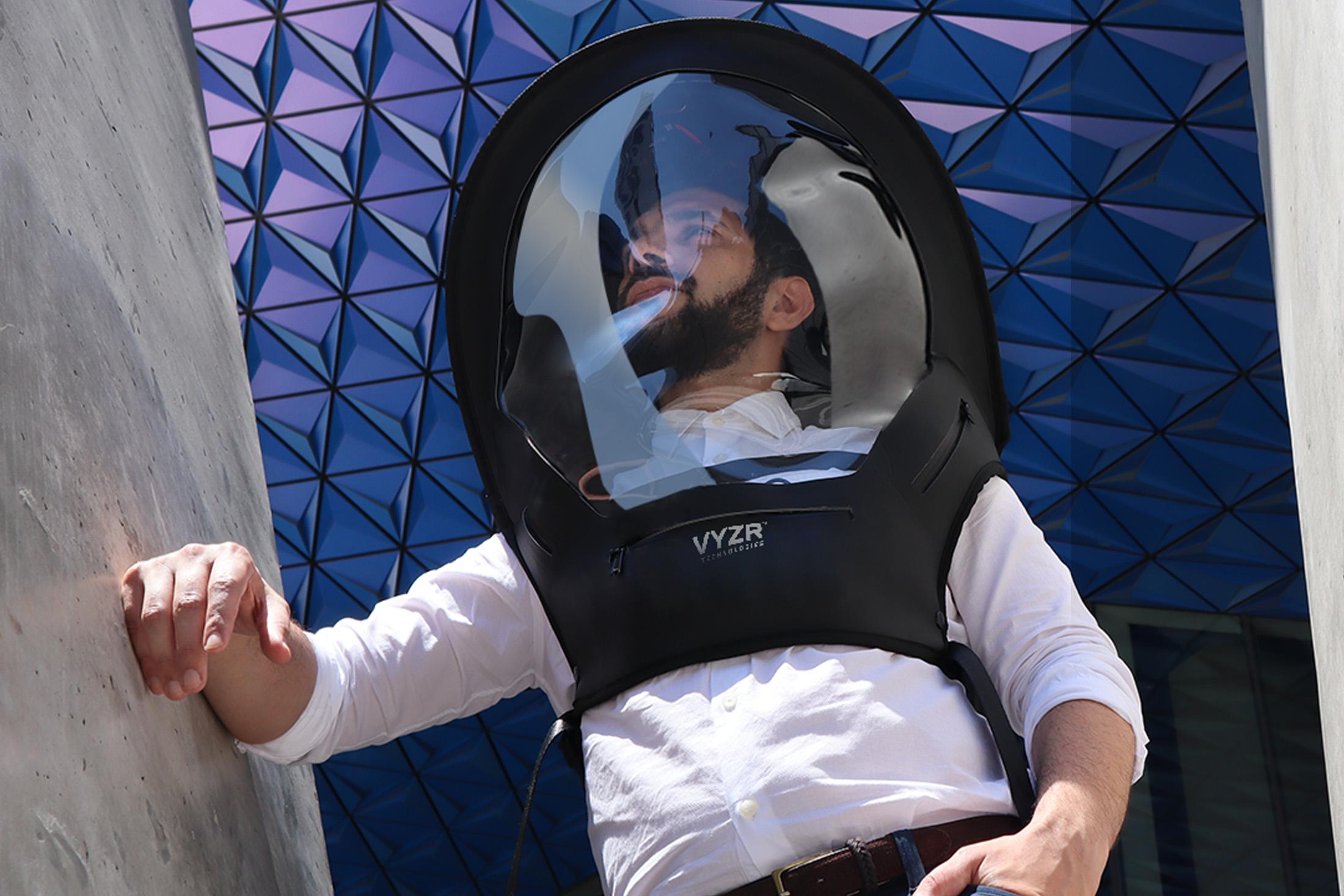Biovyzr Hazmat Suits Aim To Make Flying Safer During Coronavirus Bloomberg