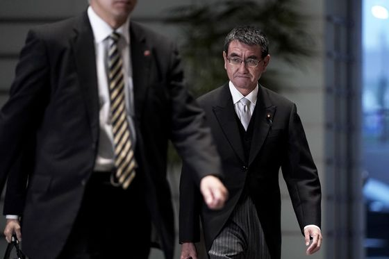 Japan Defense Minister to Enter Race to Succeed Premier Abe