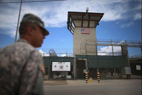 Guantanamo Bay Prison Entrance