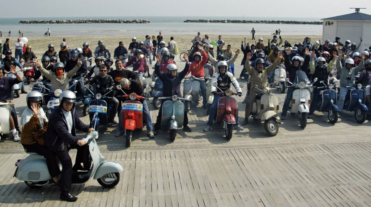 Don't You Dare Try to Take Away Italians' Vespas