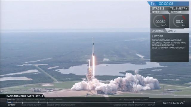 SpaceX Launches Rapid Reuse Falcon 9 Rocket