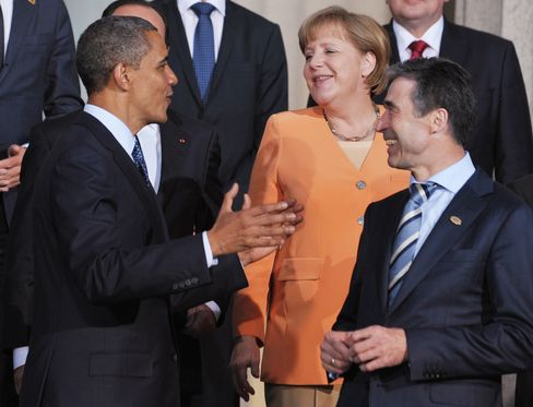 Obama Seeks Commitments on Afghanistan as NATO Summit Closes