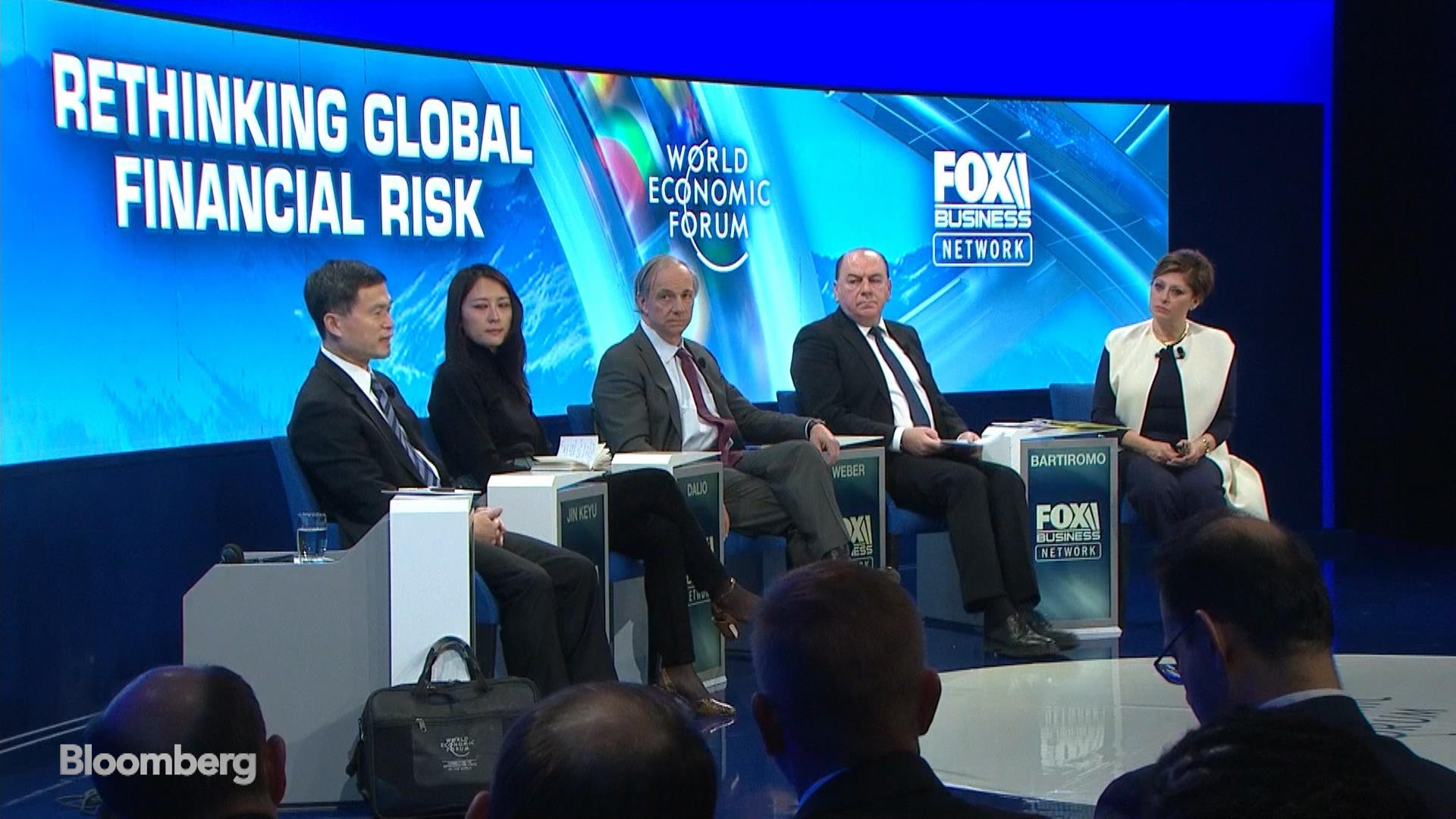 Dalio, Weber on Rethinking Global Financial Risk: Davos Panel