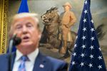 President Trump Makes Announcement On EU Trade