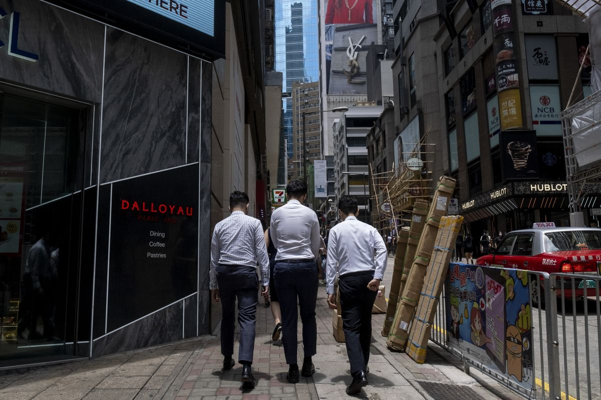 bloomberg.com - Cathy Chan - Hong Kong Rejects Pleas From Global Banks to Scrap Zero-Covid