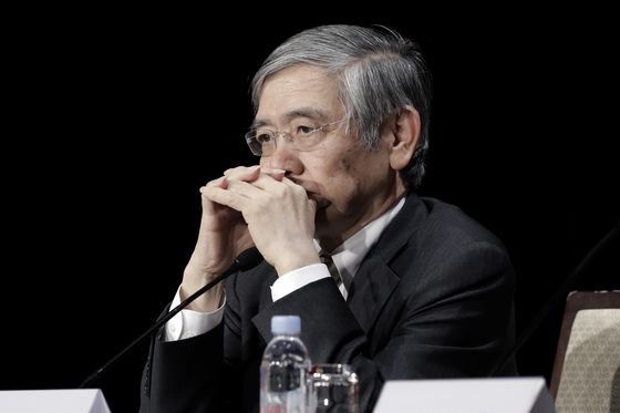 Kuroda's Price Forecasts Are Headed for Another Crash With Oil
