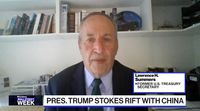 relates to Lack of market reaction to U.S.-China tensions shouldn't make people complacent: Summers
