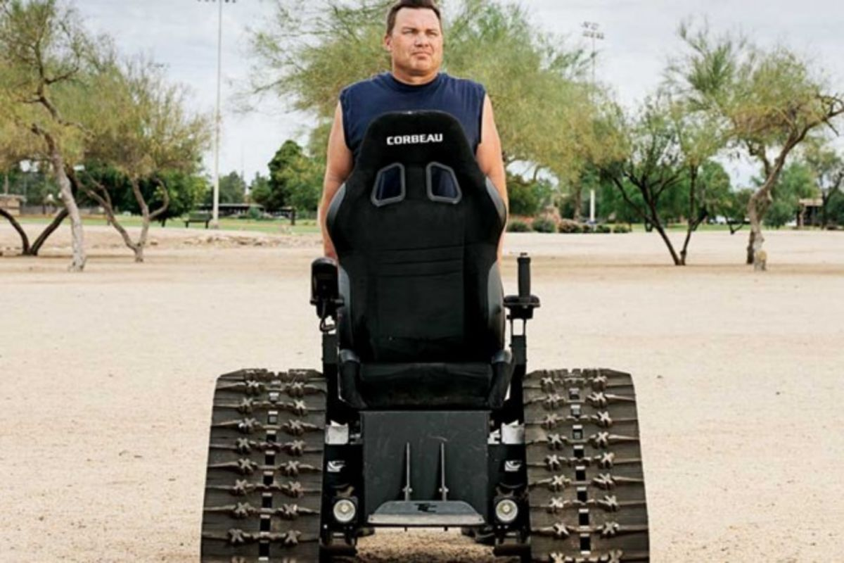 Founded By Army Vet Tankchair Makes All Terrain