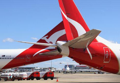 Qantas First-Half Profit May Slump 66% on Strikes, Grounding