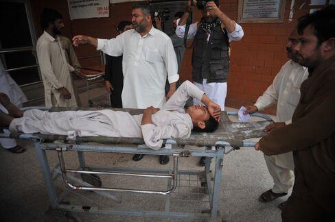 Peshawar earthquake