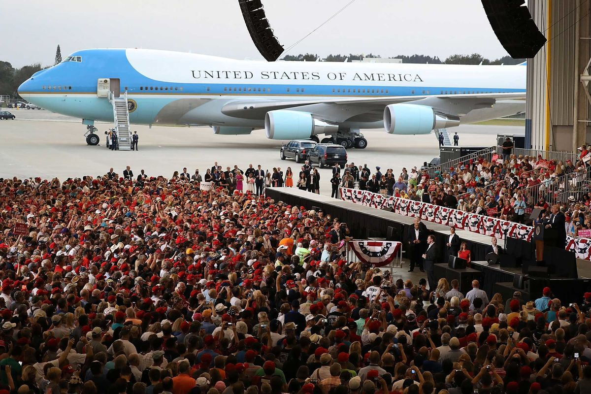 Trump Force One Is Ready For Takeoff Bloomberg
