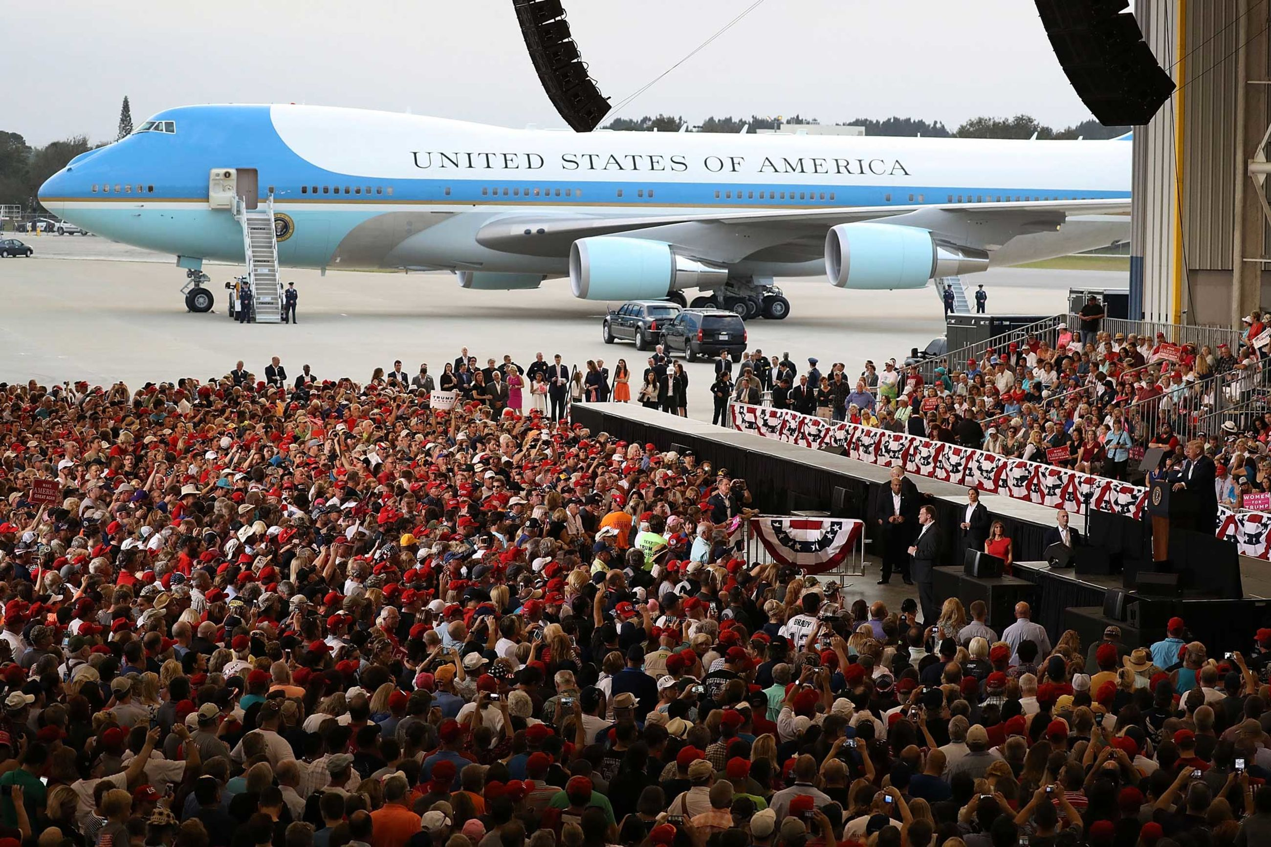 Trump Force One Is Ready for Takeoff