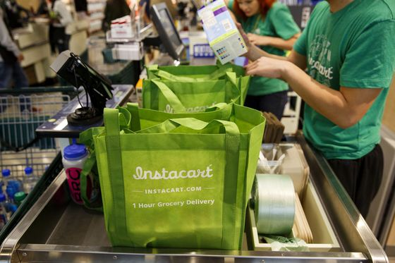 Instacart Bets on Robots to Shrink Ranks of 500,000 Gig Shoppers