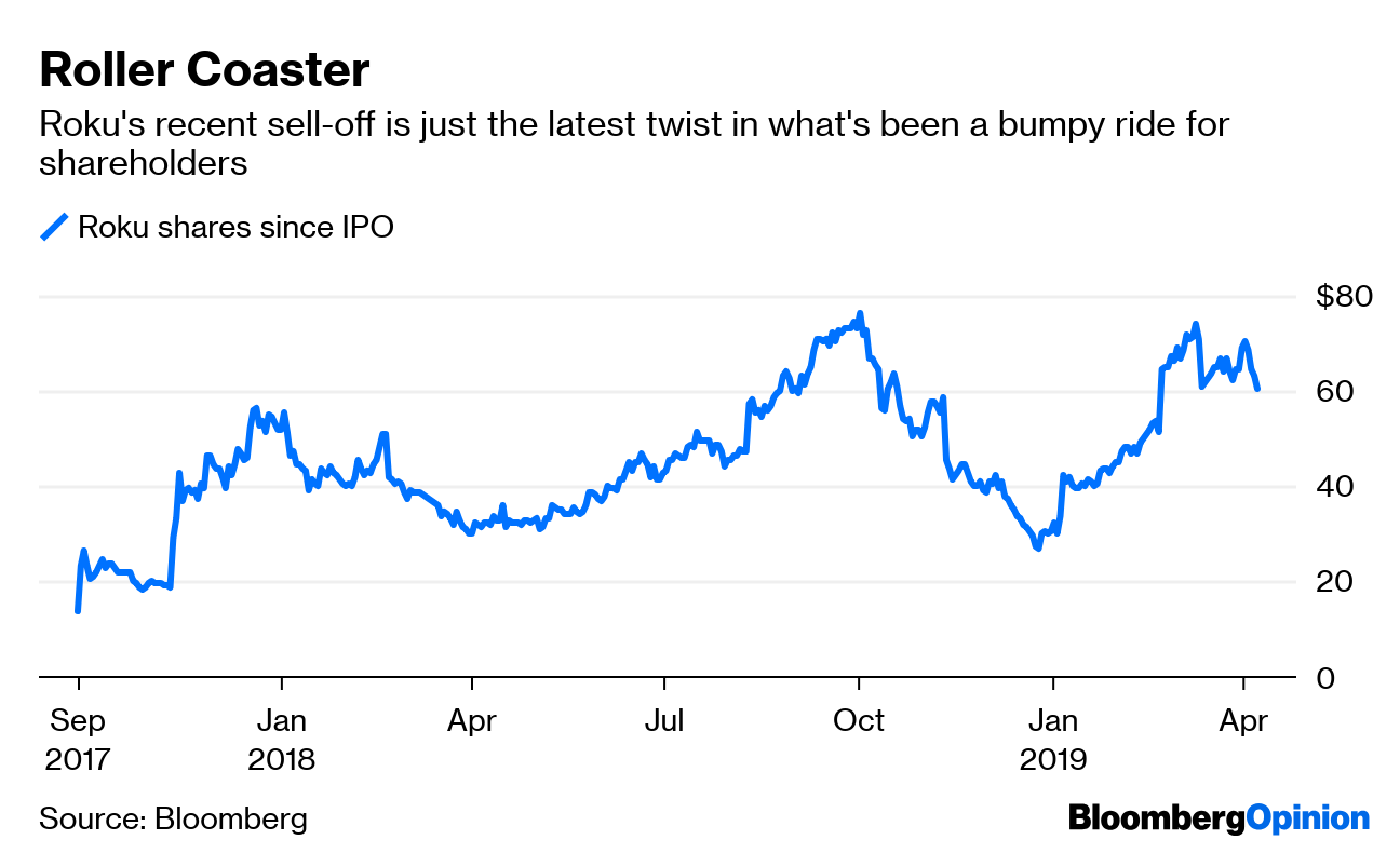 Roku Stock Valuation Makes Even Netflix Seem Sensible - Bloomberg