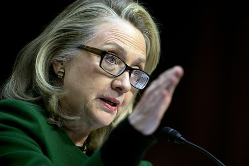 Clinton Defends Libya Actions Amid Criticism From Republicans