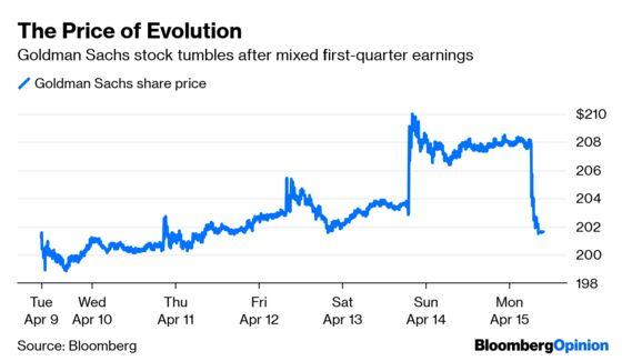 Goldman Sachs Embarks on a Long Evolutionary Path