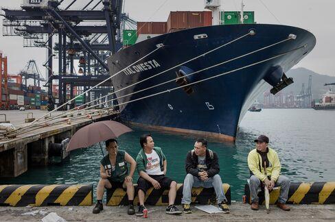 Hongkong Intl Terminals Faces HK$5 Million Daily Loss on Strike