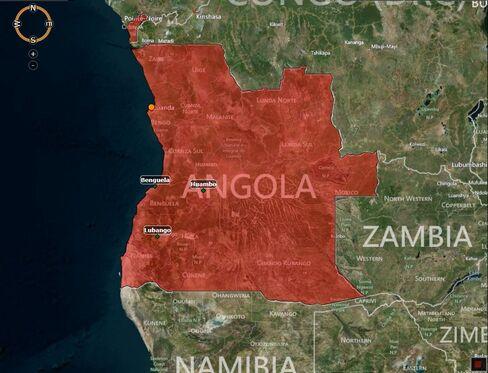 MAP: Angola