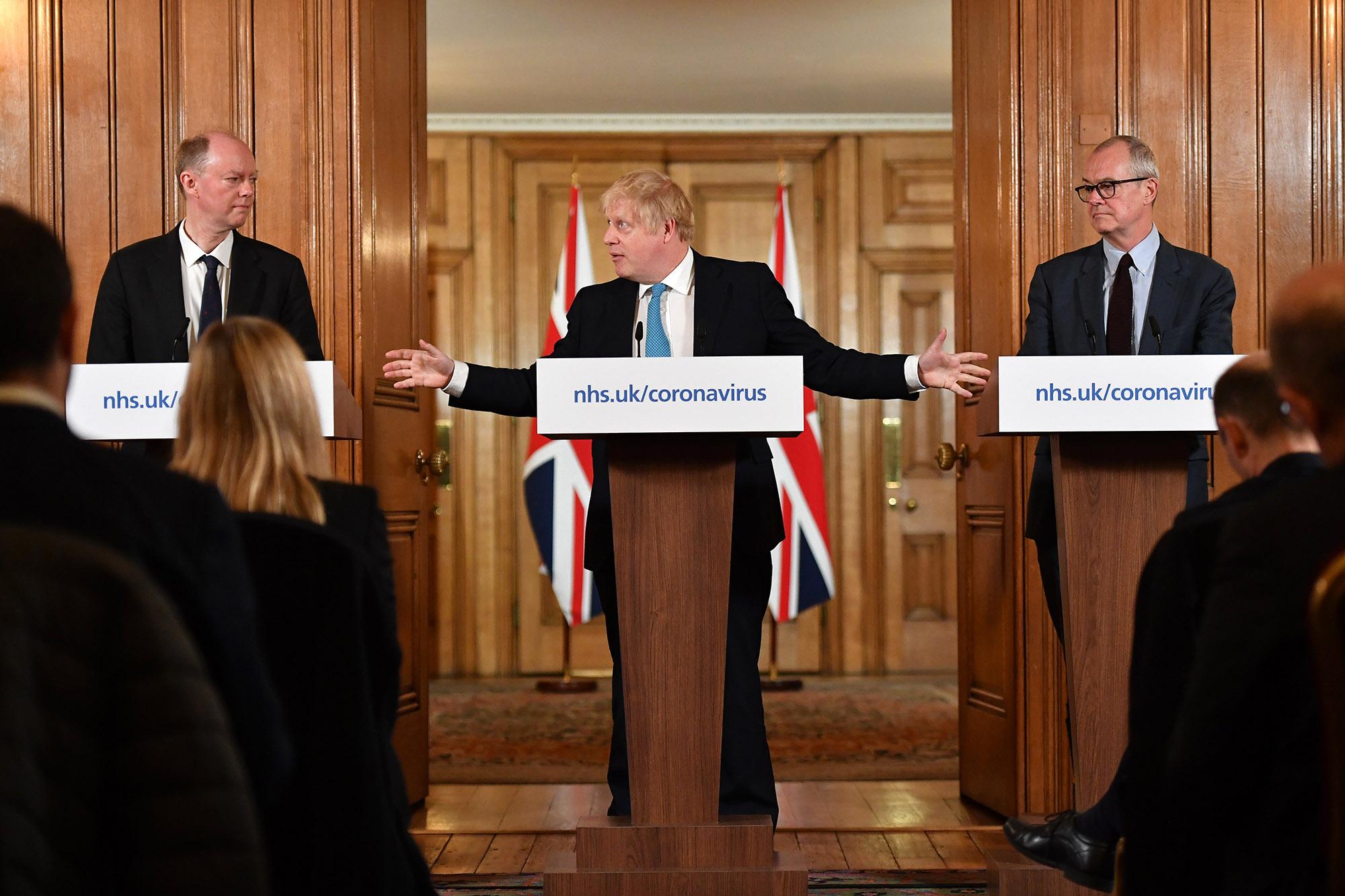 Premier Wielkiej Brytanii codziennie przekazuje narodowi przemówienie na temat koronawirusa