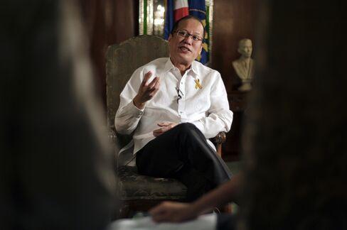 Philippine President Aquino