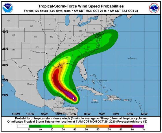 Fire, Snow, Hurricane Striking U.S. in Clash of Seasons