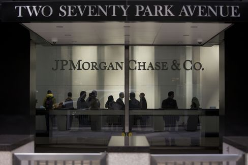JPMorgan Chase & Co. Headquarters Stand in New York