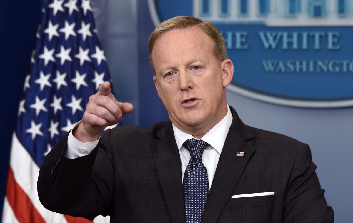 Sean Spicer Sues Biden Over Ouster From Naval Academy Board